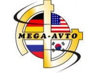 Логотип Мега-Авто, Автомобили Америки и Германии