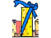 Логотип Город подарков