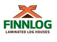 Логотип FINNLOG. Финские деревянные дома из клееного бруса. Строительство под ключ в Новосибирске