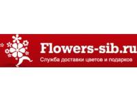 Логотип Служба доставки цветов Flowers-Sib.ru