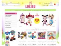 Логотип LOLILU.RU интернет магазин игрушек