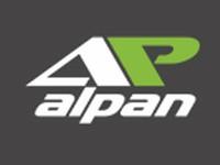 """Логотип Новосибирский завод по производству фасадных термопанелей """"Алпан"""""""
