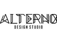 Логотип Студия дизайна АЛЬТЕРНО