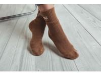 Логотип Монгольские носки из верблюжьей шерсти оптом