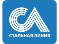 Логотип Фирменный салон входных дверей «Стальная Линия»
